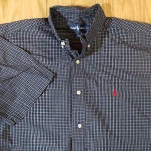 Polo Ralph Lauren Plaid Short Sleeved Shirt